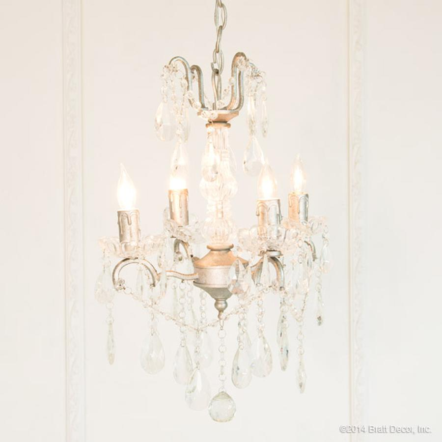 chandeliers pewter crystal beads light