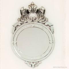 venetian crown mirror