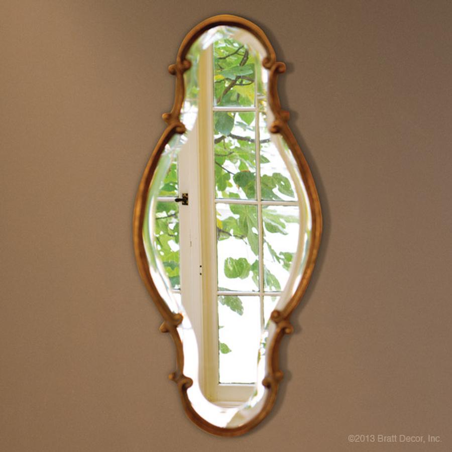 gold antiqued trimmed mirrors elegant
