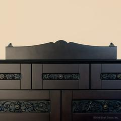 tray elegant changer dresser wood
