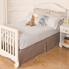 bed frame twin full footboard