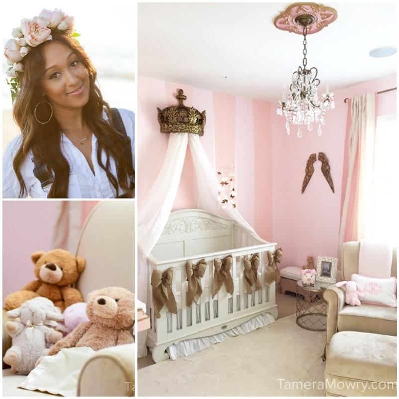 Check Out Tamera Mowry S Nursery Featuring Bratt Decor