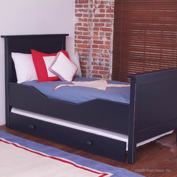dick twin bed trundle plate