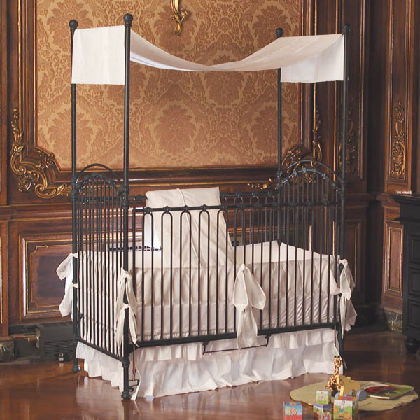 venetian drop gate crib