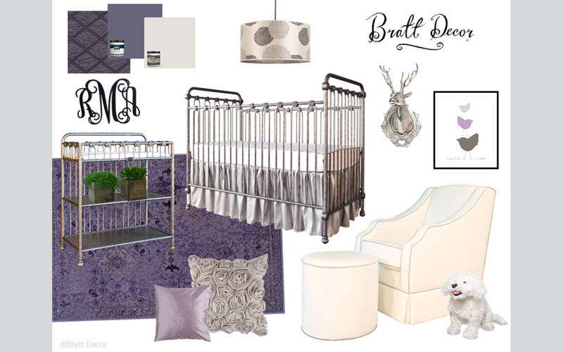 Passion for Purple Design Board