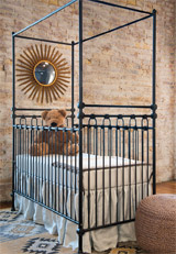 in-stock heirloom iron cribs ship free