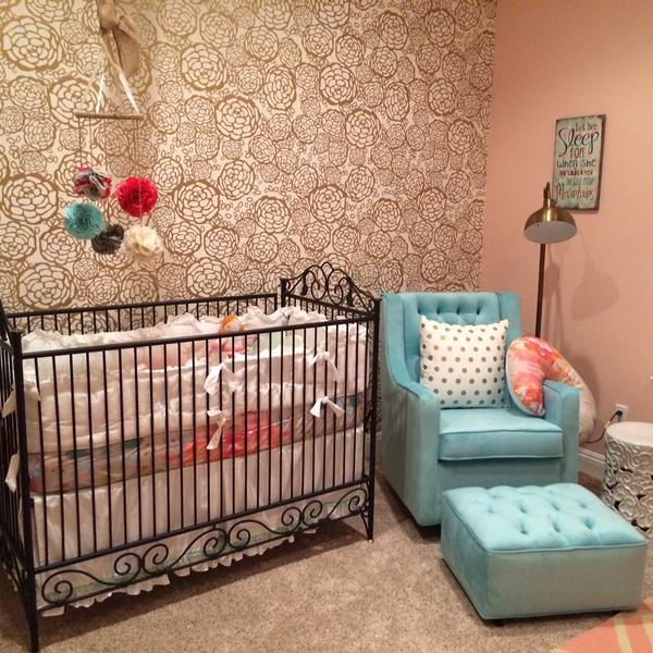 Michele Engle's Floral-Inspired Nursery
