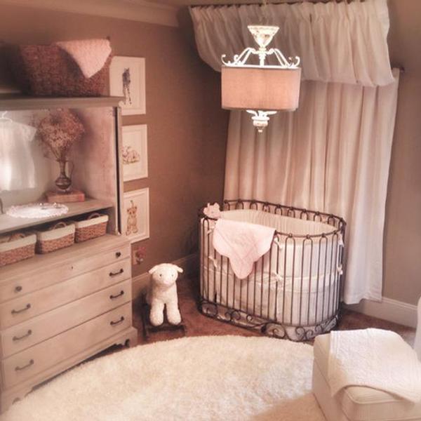Jadore Crib Cradle Pewter
