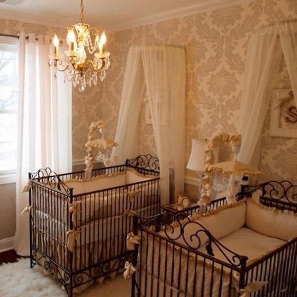 Twins Neutral Elegance Nursery