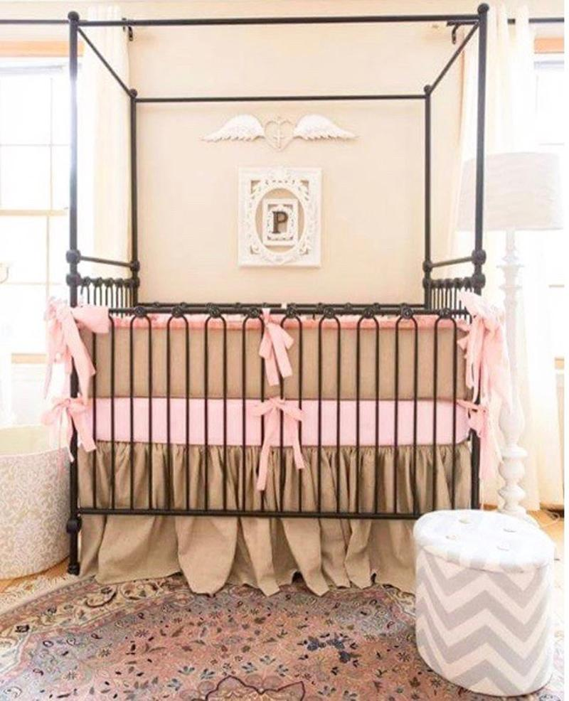 Joy Canopy Crib Nursery