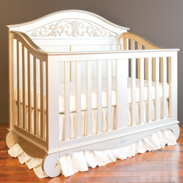 Crib Windsor Walnut Convertible Crib Windsor White