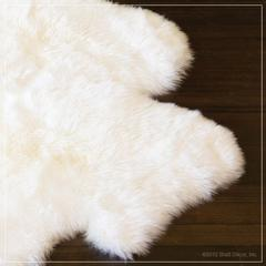 urban sheepskin rug in ivory-large