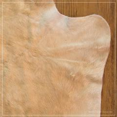 caramel cow hide
