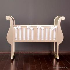 chelsea cradle antique silver