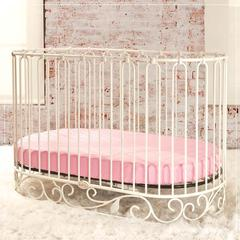 j'adore oval crib bedding