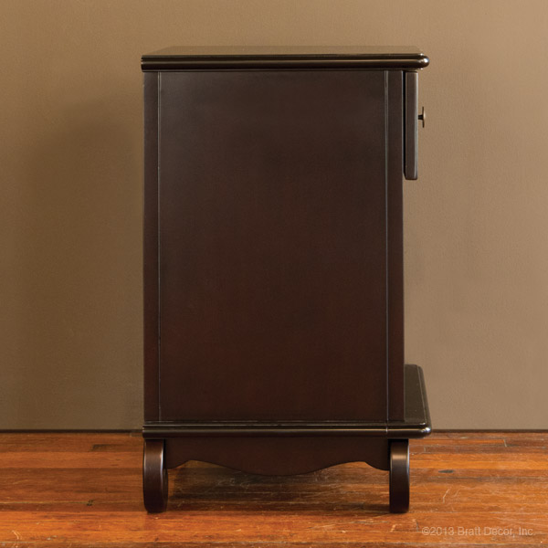 chelsea night stand espresso