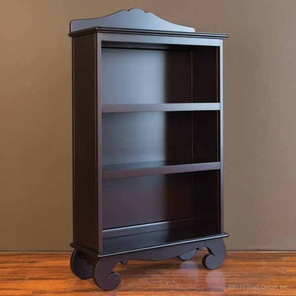 bookcase storage wooden wood elegant