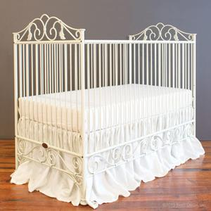 casablanca crib antique white