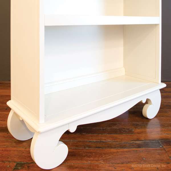 chelsea bookcase white