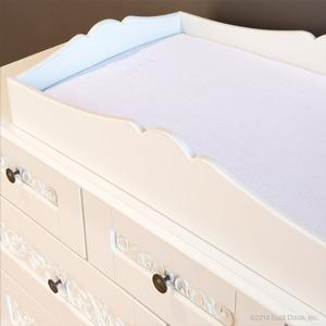 chelsea changing tray white