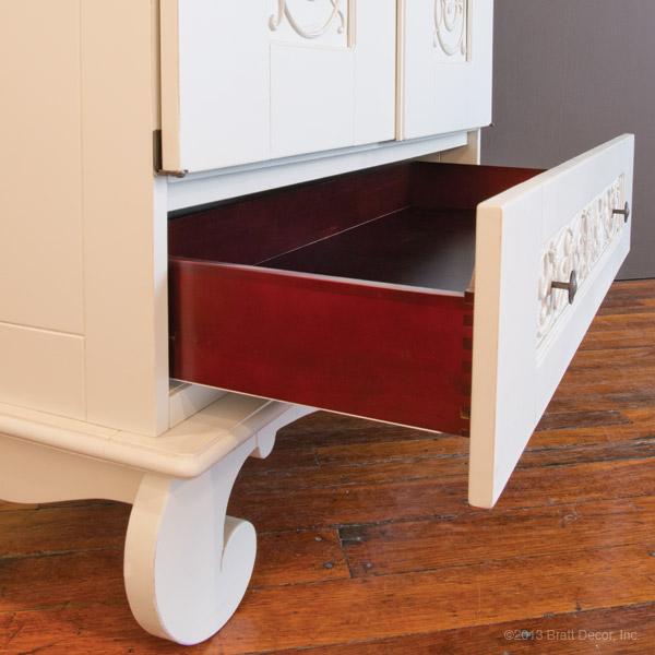 chelsea armoire white