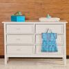 manhattan dbl dresser white