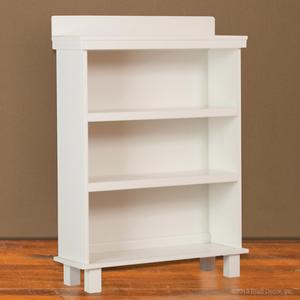 Manhattan bookcase white wood wooden