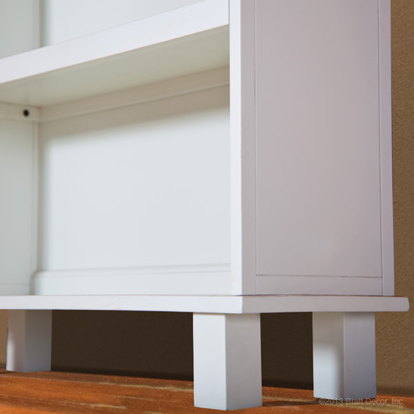 manhattan bookcase white