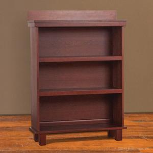 Manhattan bookcase sable wood wooden