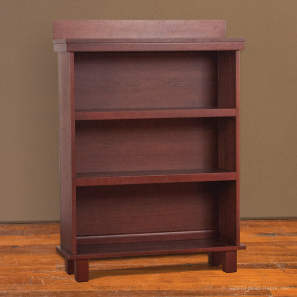 manhattan bookcase sable