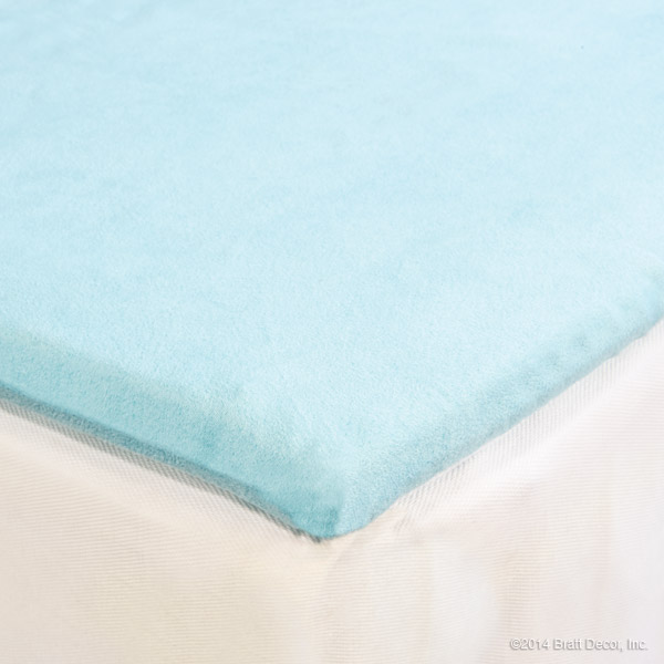 blu changing pad cover sky