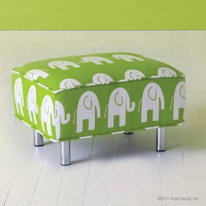 mod elephant child ottoman