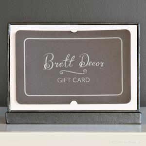 bratt decor gift card