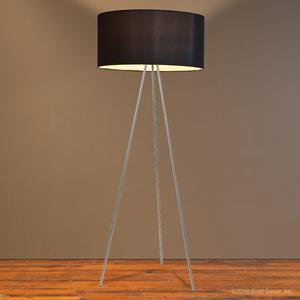 tuxedo floor lamp