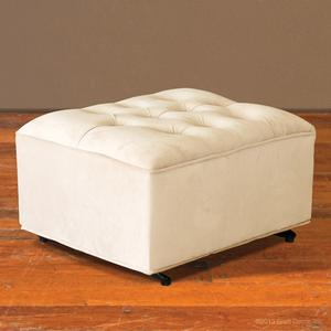 grand wheat gliding ottoman