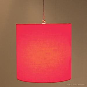 red meridian pendant lamp