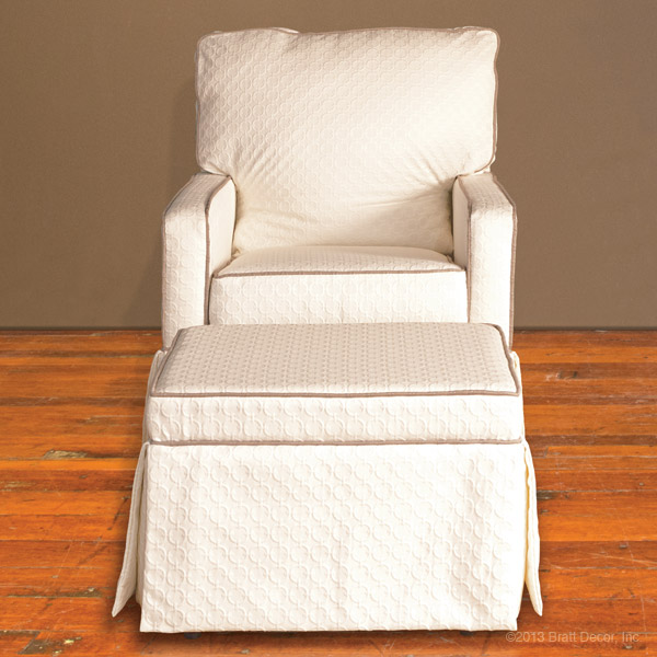 nantucket glider and ottoman