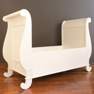 chelsea toddler bed conv. kit white
