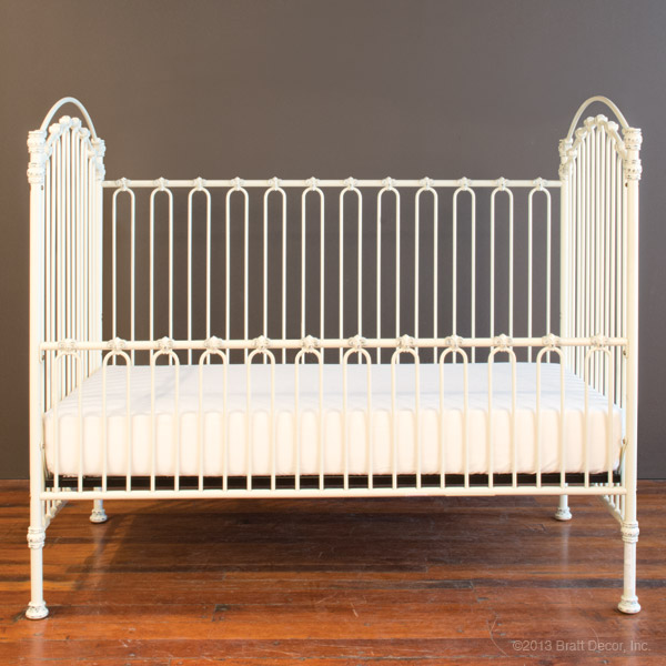 venetian daybed kit ant. white
