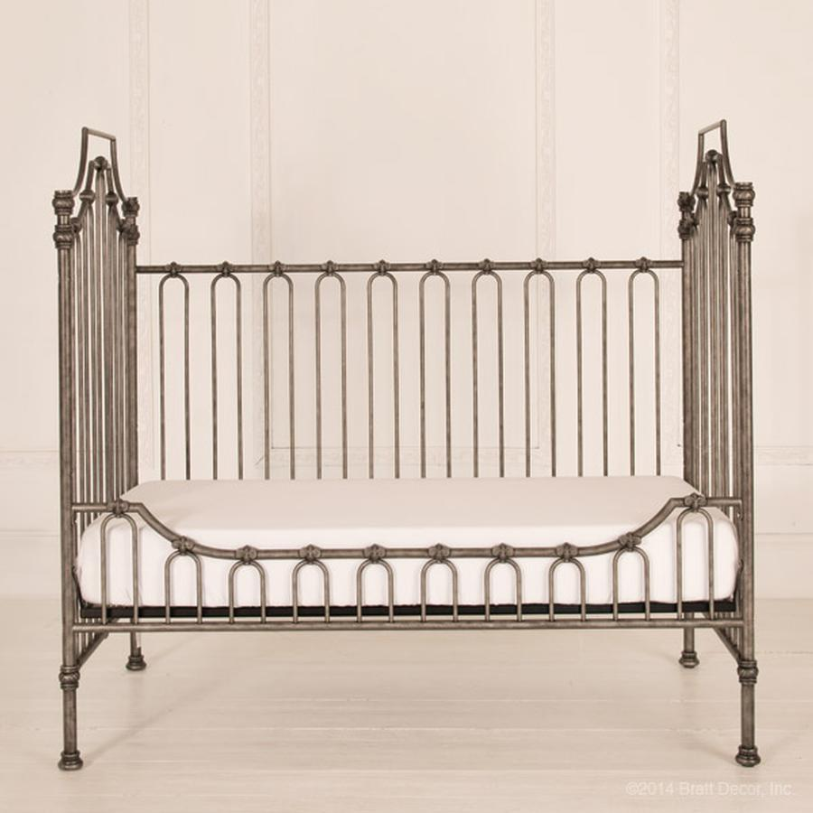 parisian daybed kit pewter