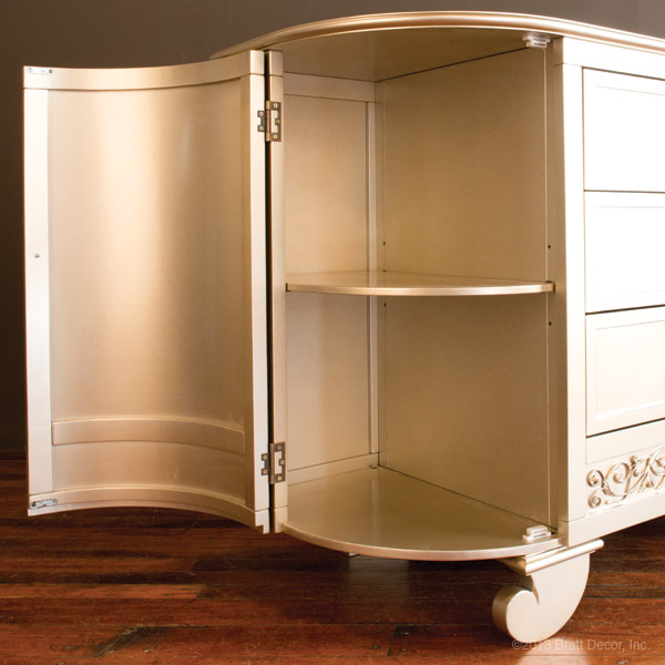 chelsea darling dresser antique silver