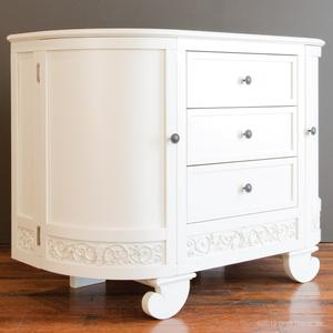 chelsea darling dresser white