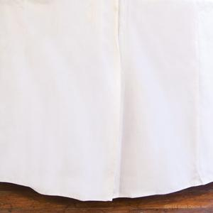 round oval jadore white skirts