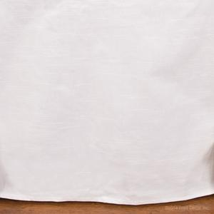 skirts white cotton oval dust