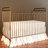joy baby crib gold