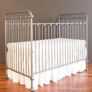 joy baby crib pewter