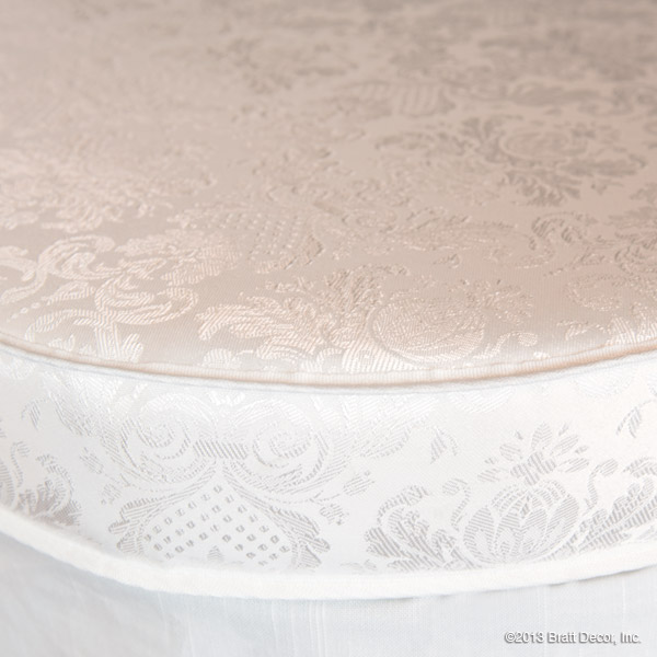 luxe oval crib mattress
