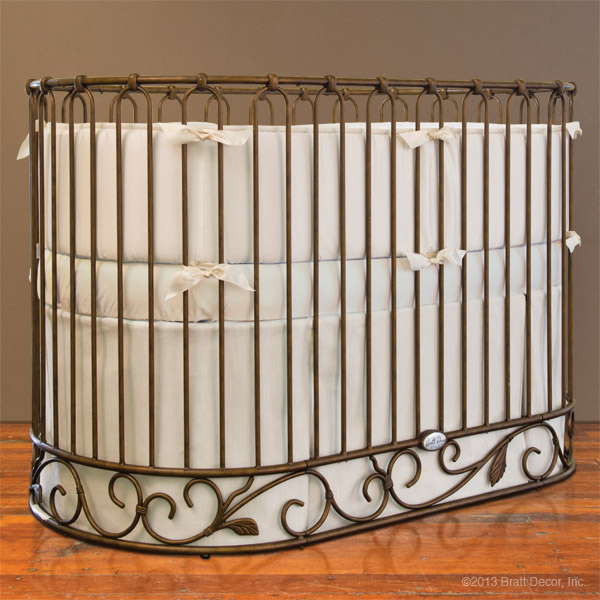 j'adore oval crib set