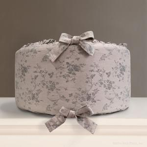 french gray grey floral bumpers