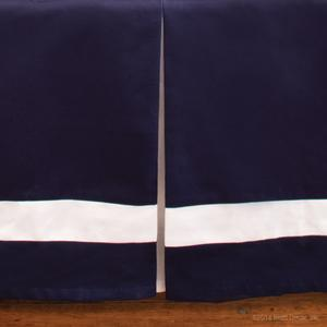 chandler cotton crib skirt